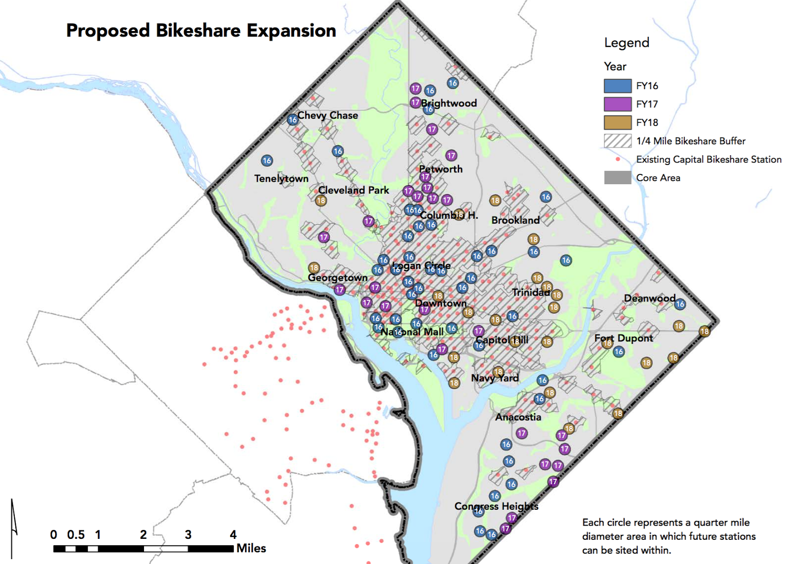 New Columbia Heights: Capital Bikeshare to add and expand stations on