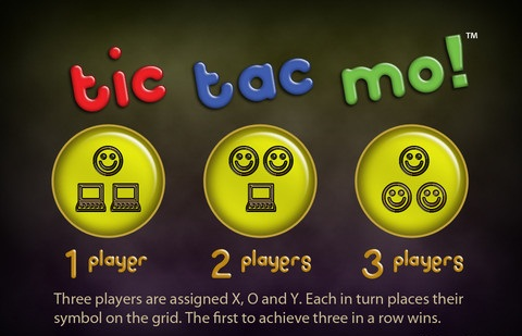Tic Tac Mo for iPhone is the Classic Tic Tac Toe Game