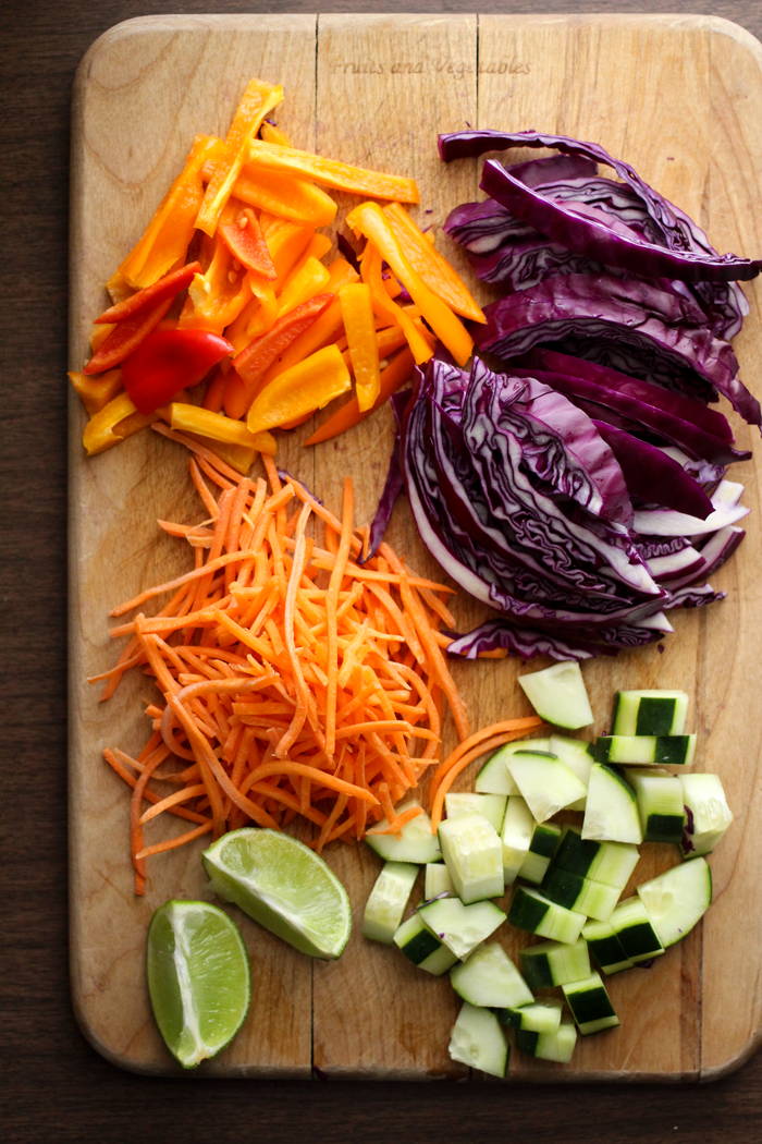 Noodle Salad with Creamy Coconut Peanut Dressing | The perfect salad ...
