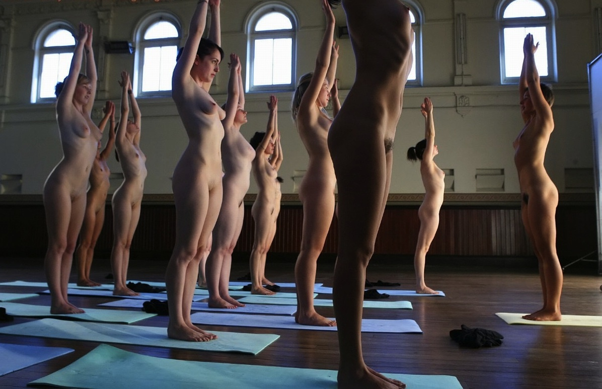 Fuck, but naked yoga men Sie doch