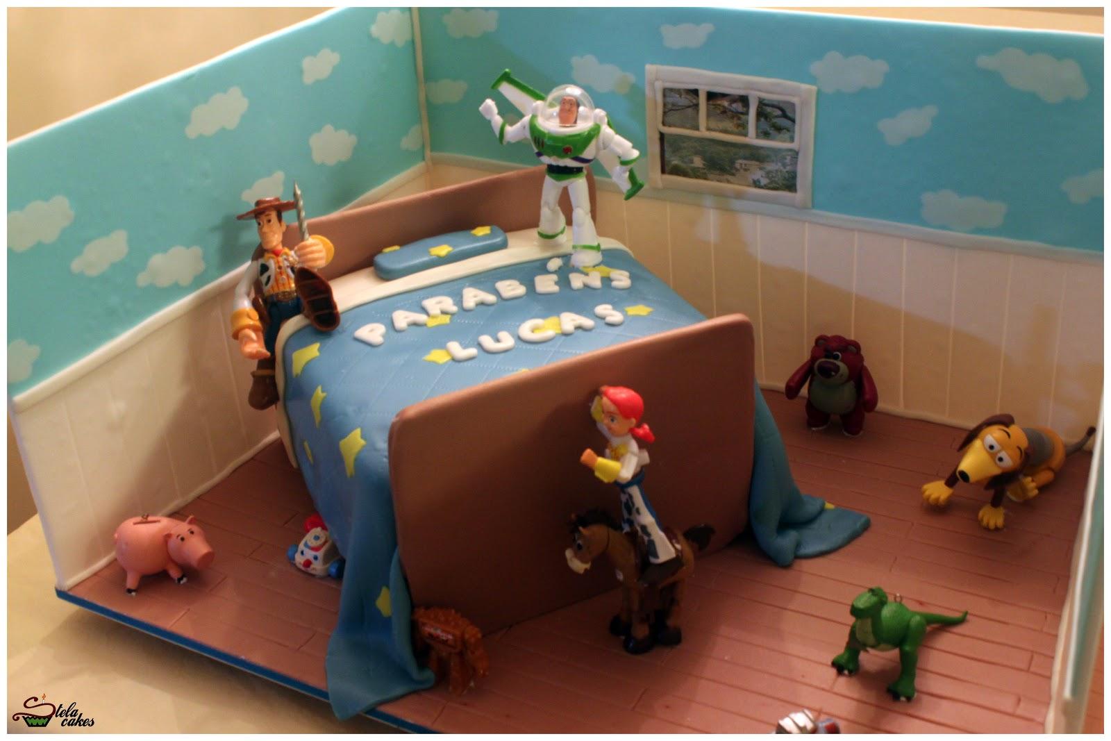 Quarto Toy Story ~ Stela cakes Bolo Quarto do Toy Story