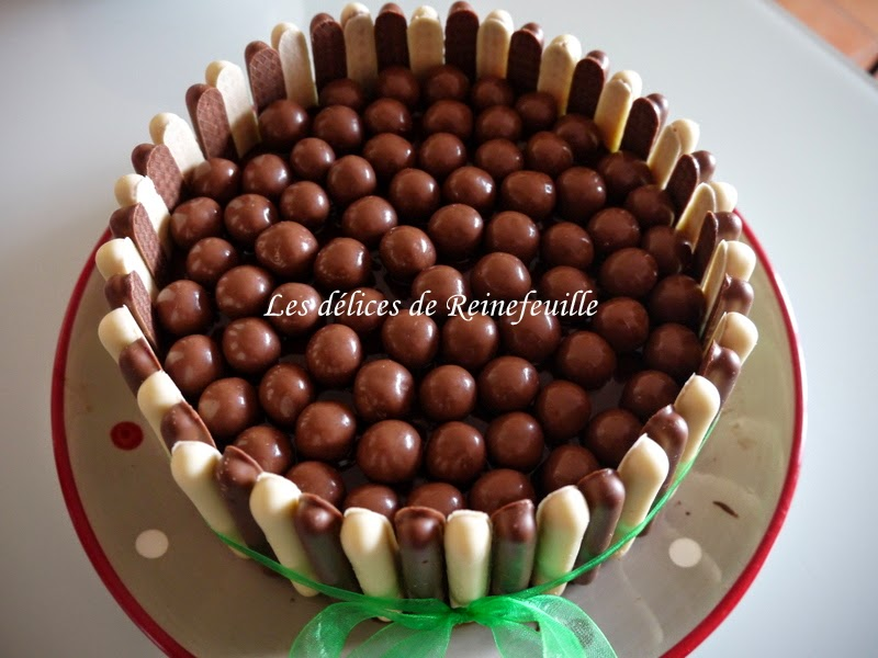 Decoration gateau maison