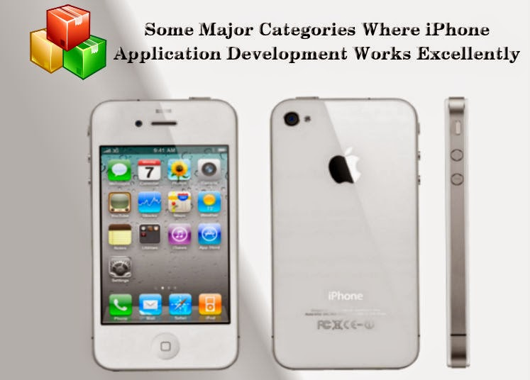 Some Major Categories Where iPhone Application Development Works Excellently