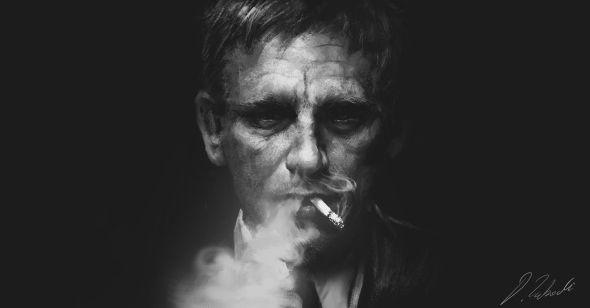 Darek Zabrocki daroz deviantart illustrations concept art fantasy games 007 Daniel Craig