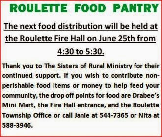 6-25 Roulette Food Pantry