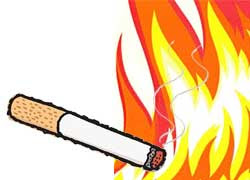 Puntung Rokok Picu Kebakaran di Medan