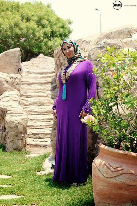 Modèle hijab fashion