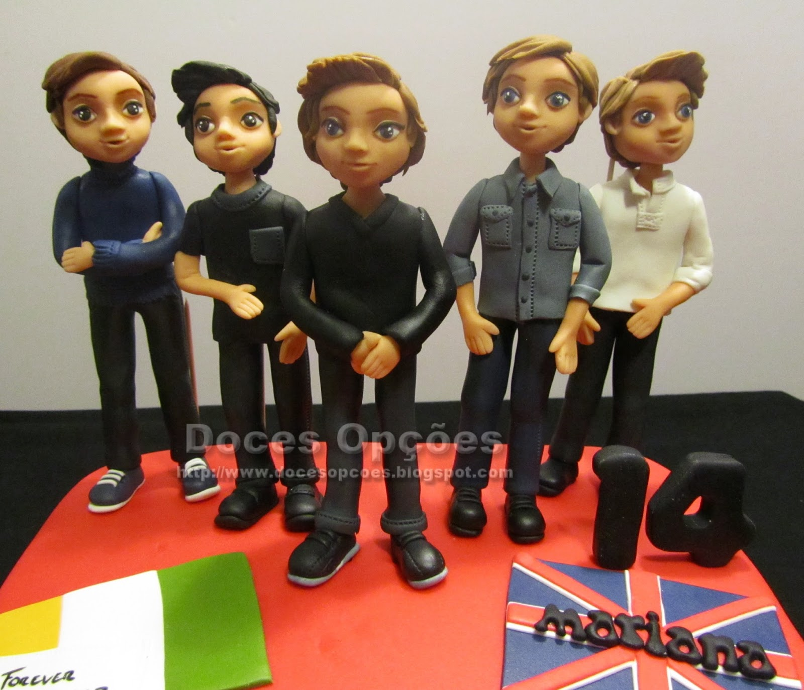 tarta one direction braganza