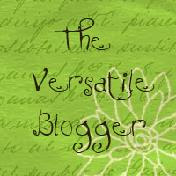 Versatile Blogger Award :)
