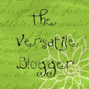 Versatile Blogger Award :)