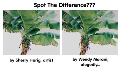 banana tree exact copy plagiarist