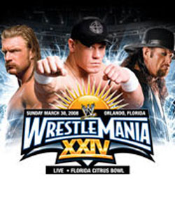 wrestlemania 25 wrestlemania 25 watch hereWrestlemania 24 Poster