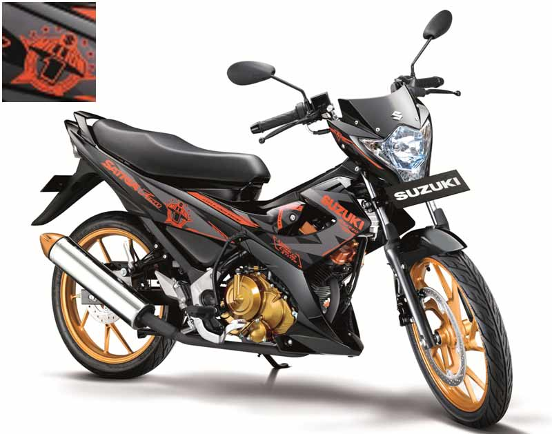 RedCasey Personal Blog's: SUZUKI SATRIA F 150 FIGHTER : Varian ...