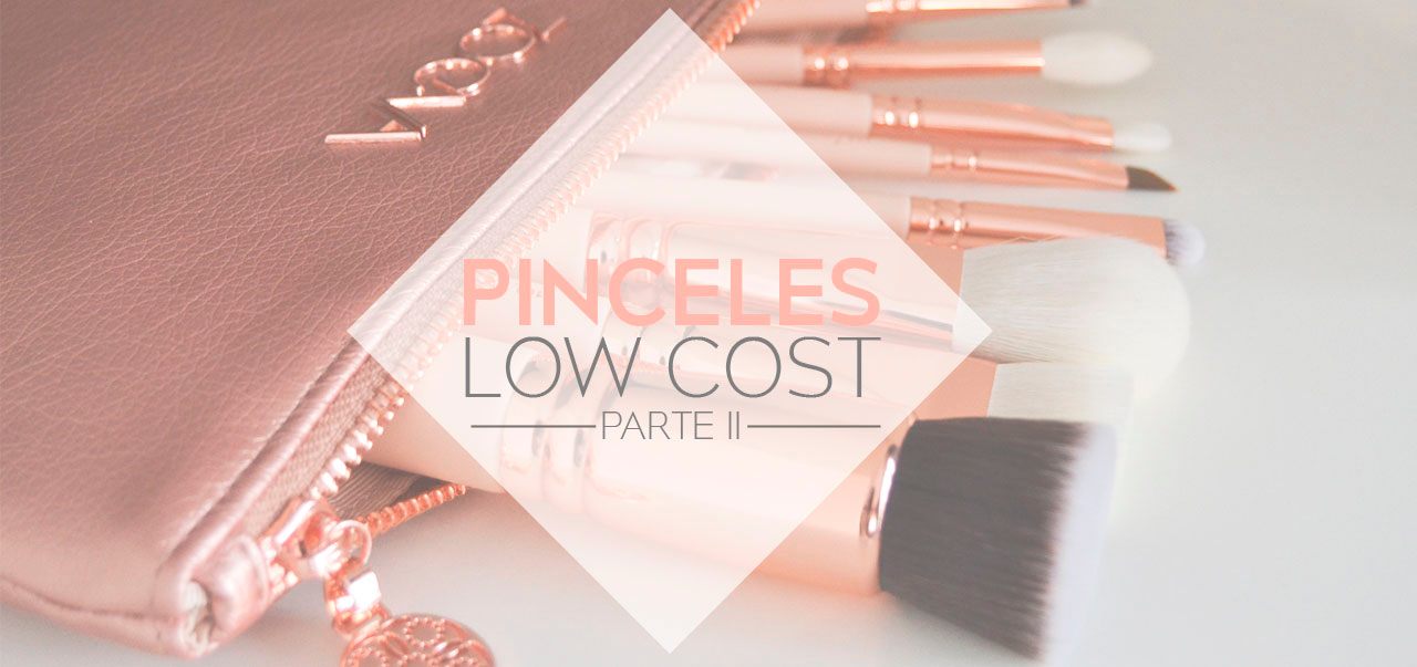 Pinceles maquillaje low cost