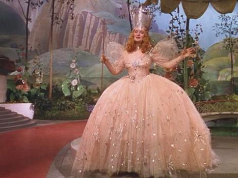 Escapist Scrawl: Halloween Costume - Glinda the Good Witch.