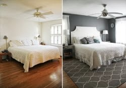 Bedroom Makeover - Before & After