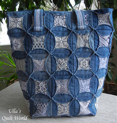 Diary of a Quilt Maven: Faux Cathedral Windows Pincushion