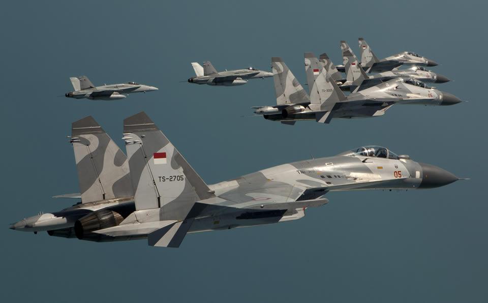 Modernisasi Alutsista TNI AU Datangkan 102 Pesawat Tempur