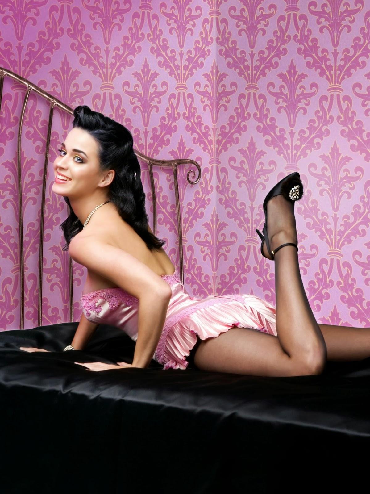 katy pery in lingerie
