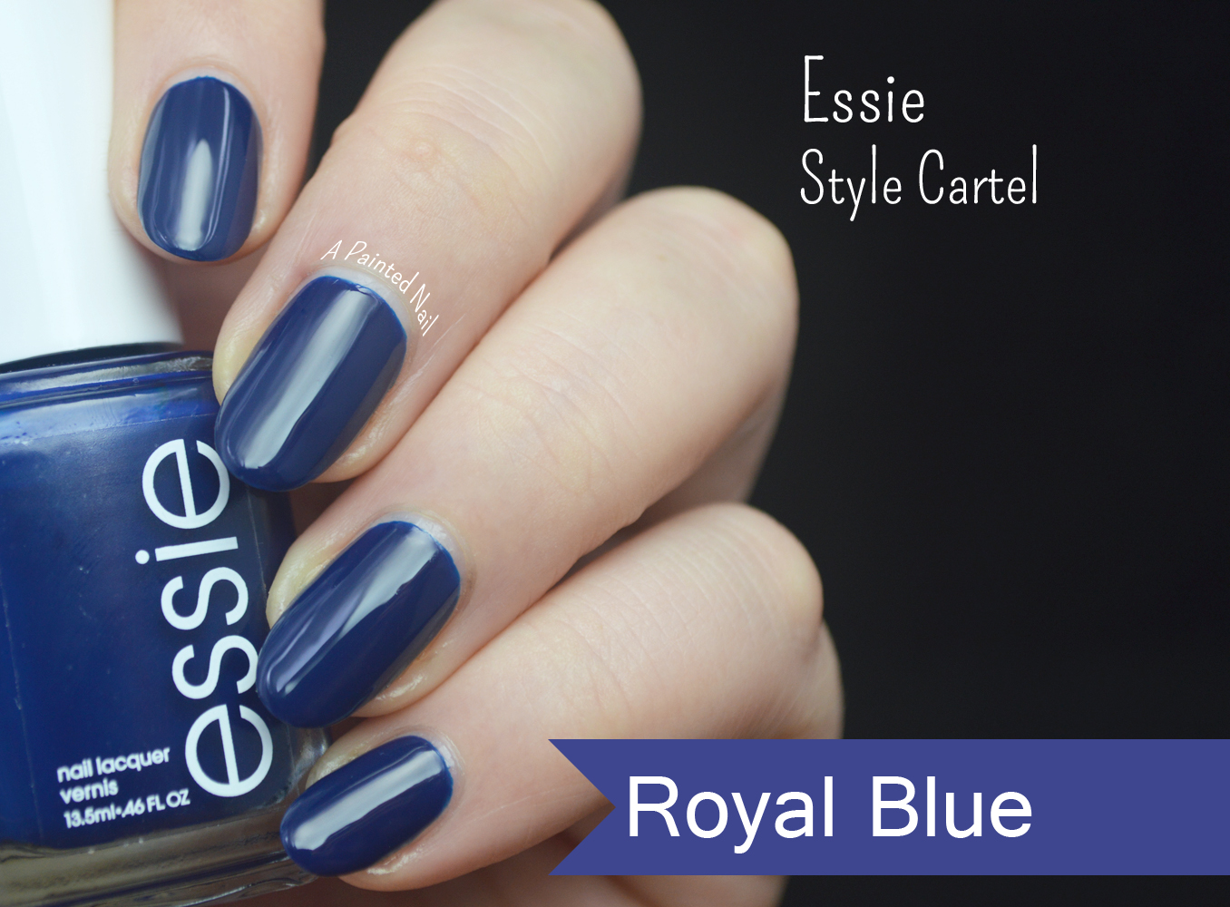 Royal Blue Nail Polish Essie - Absolute cycle