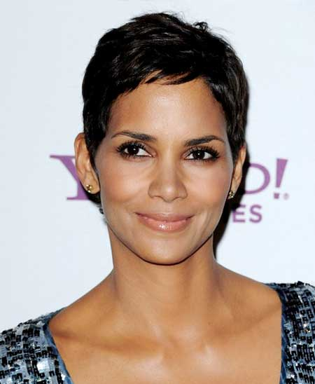 Halle Berry Short Curls