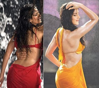 PHOTO MANIAC: Gallery of Indian Actresses in Backless Blouse Sarees