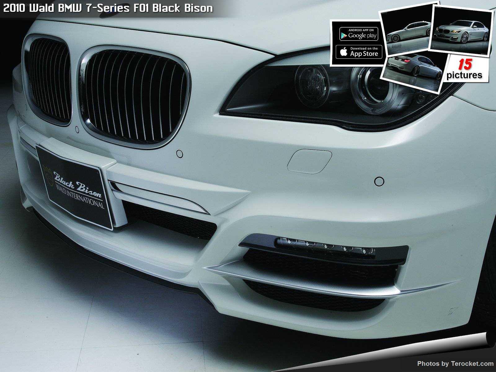 Hình ảnh xe độ Wald BMW 7-Series F01 Black Bison 2010 & nội ngoại thất