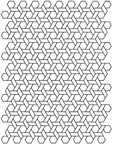 Geometric Design Coloring Pages Printable