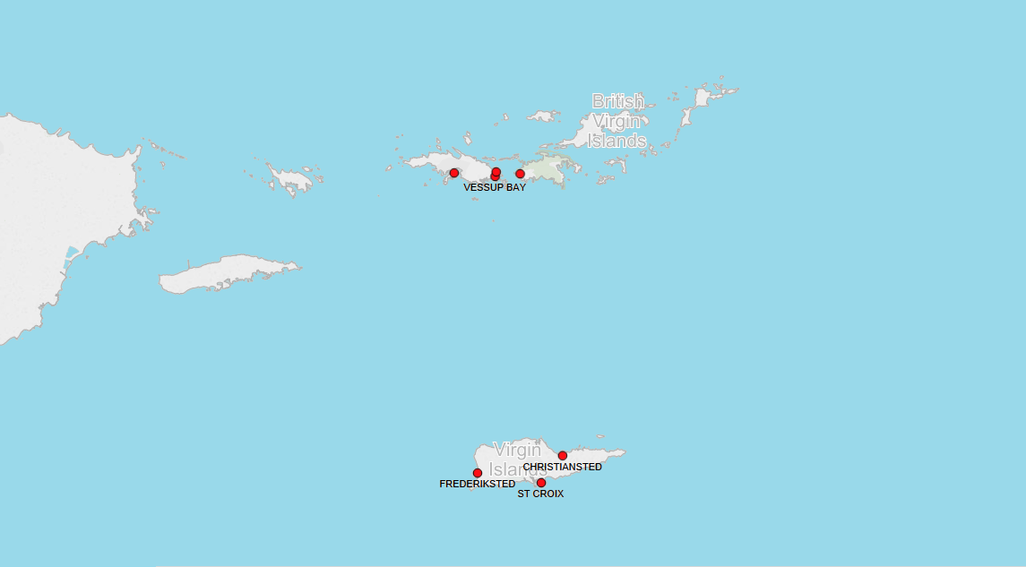 PORTS IN US VIRGIN ISLANDS