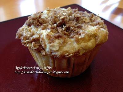 Apple Brown Betty Muffins | Addicted to Recipes