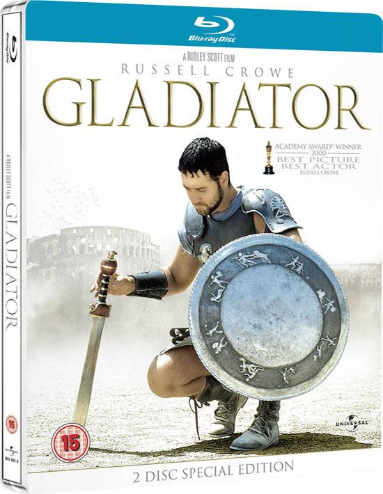 Gladiator Blu-ray Dvd Case