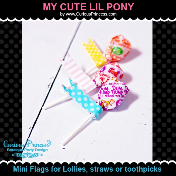 Curious Princess My cute Little Pony Birthday Party