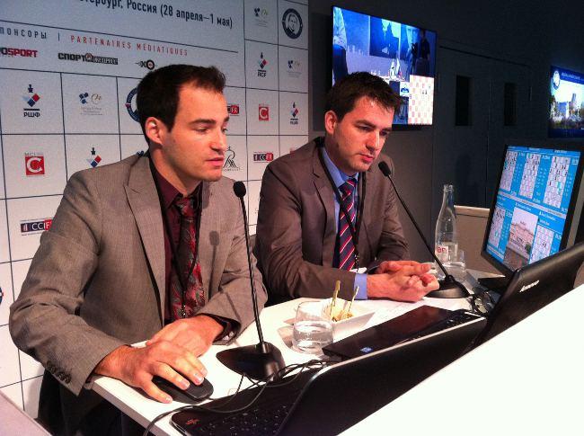Les commentaires des parties en Français de Yannick Pelletier et Jean-Baptiste Mullon © Chess & Strategy