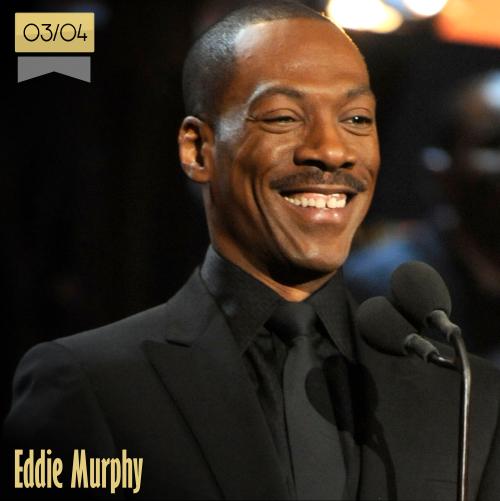 3 de abril | Eddie Murphy - @eddiemurphy | Info + vídeos