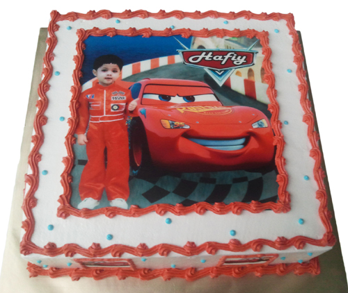 Birthday Cake Edible Image Disney Cars Ai-sha Puchong Jaya