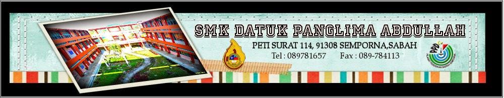 SMK Datuk Panglima Abdullah, Semporna Sabah