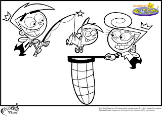 free fairly odd parents coloring pages printable