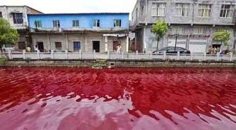 """Sungai Bertukar Warna """"Darah""""?!"""