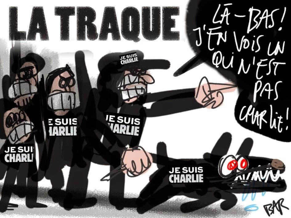 guerre - Chercheurs de vérité contre chasseurs de conspirationnistes : la guerre est déclarée  Charlie