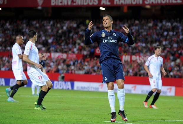 Hasil laga Sevilla 3-2 Real Madrid