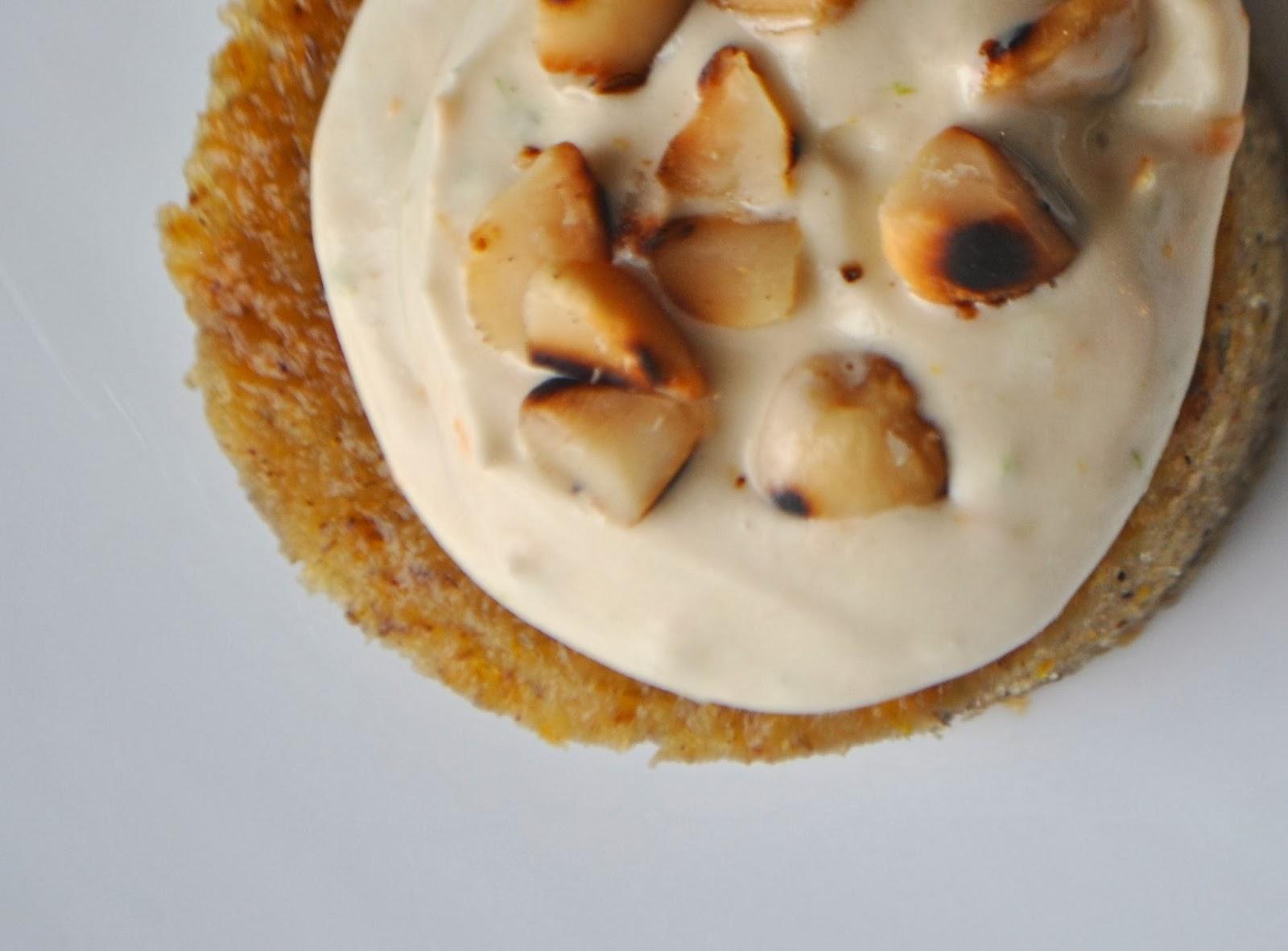 Recipe Doodle: ROASTED BANANA PUDDING CAKE WITH HONEY CREAM AND ...