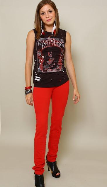 red Brazilian Jeans