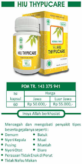 Herbal Tipes | HIU Thypucare | Herbal Indo Utama