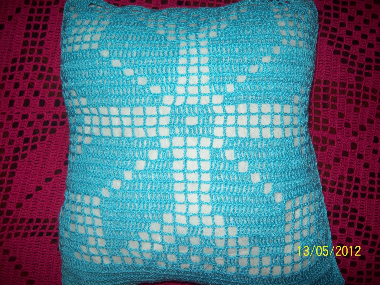 Curso de tejido a mano: Almohadón de hilo en crochet
