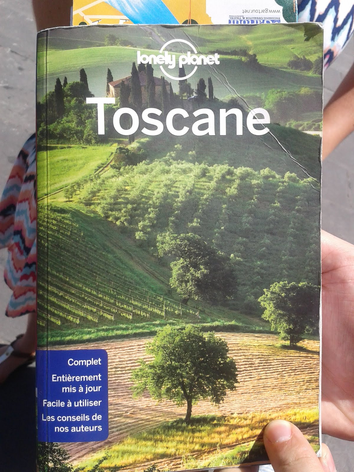 Lonely Planet Toscane - je suis là!