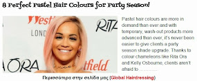 8 Perfect Pastel Hair Colours for Party Season!