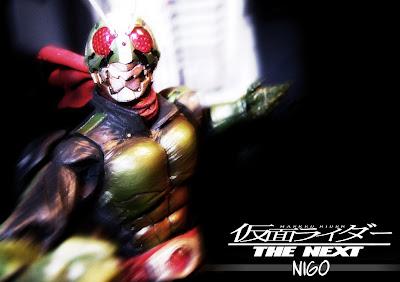 Bandai SIC Kamen Rider The Second Nigo