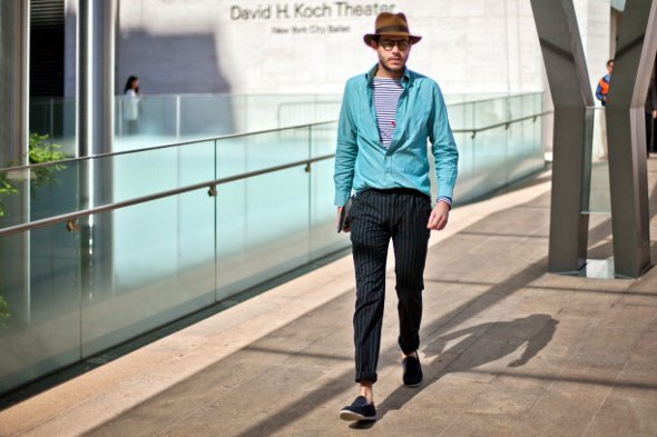 new york fashion week, mens fashion, mens street style, GQ, Justin Doss, hats,