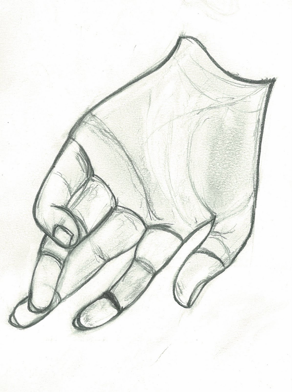 Line Art Hands : Kris art works hand line drawing