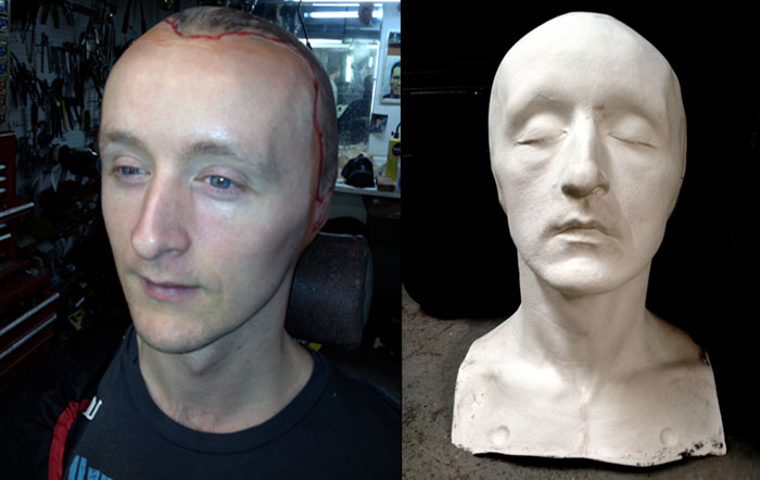 paul cram plaster casting head